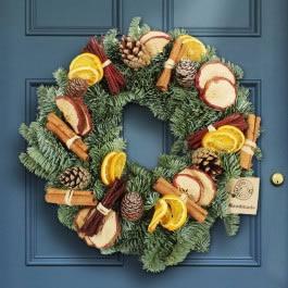 Kerstkrans Vruchten